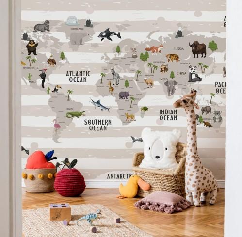 """Wallpaper """"World Map"""""""